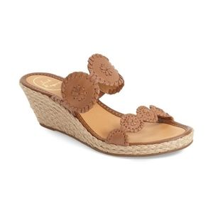 Jack Rodgers Shelby Whipstitched Wedge Sandal